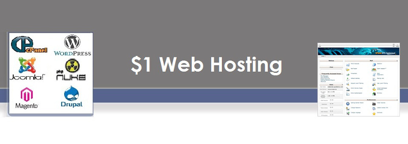 List of $1 Web Hosting