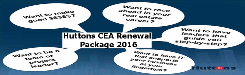 Huttons CEA Renewal Package 2016